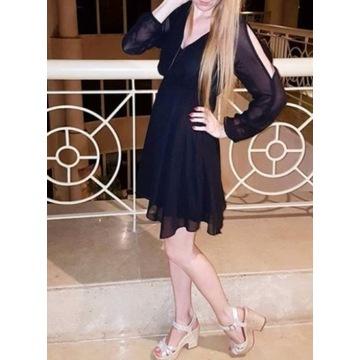 Czarna sukienka BonPrix rozm 32