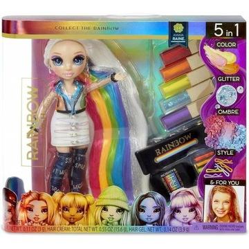 Rainbow High Hair Studio Lalka Amaya Raine-Nowość