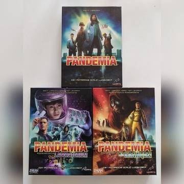 Pandemia - zestaw z Laboratorium i Na Krawędzi