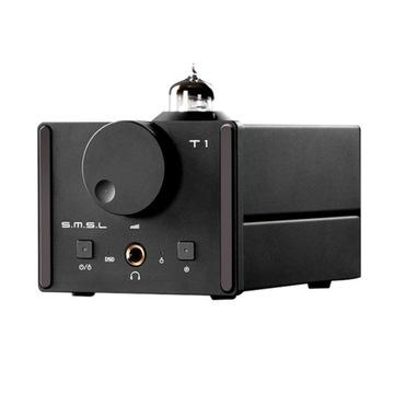 SMSL T1 - DAC oraz lampowy wzmacniacz słuchawkowy
