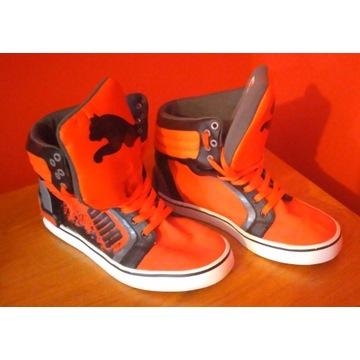 Pomarańczowe buty PUMA