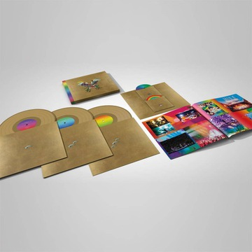 3 Gold Winyl + 2 DVD Coldplay Live in Buenos Aires