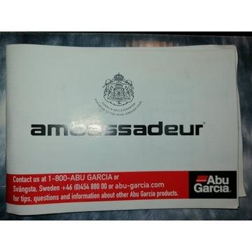 Kołowrotek Abu Garcia Ambassadeur Seven pudełko