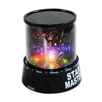Nowe Lampka nocna projektor gwiazd dla dzieci