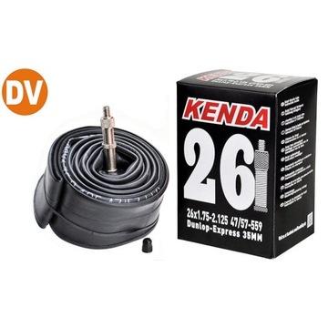"Dętka Kenda 26"" DV 35mm box molded"