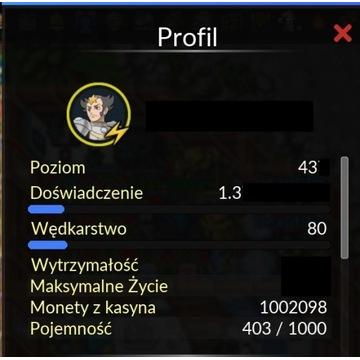 pokexgames konto 400+ raibolt pxg server gold