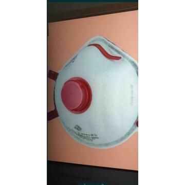 Maska antywirusowa  FS-33V W FFP3 R D(wielorazowa)