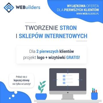 STRONA INTERNETOWA WWW + LOGO + WIZYTÓWKA