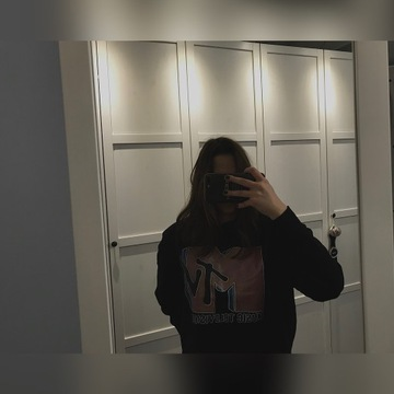 Bluza MTV crewneck sweatshirt oversize black