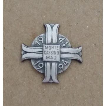 odznaka pamiątkowa Monte Cassino 2 Korpus Polski