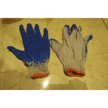 Rękawiczki robocze dziane ogrodniczki wampirki 10