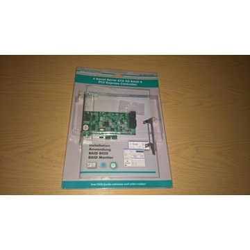 Dawicontrol DC-624E RAID kontroler PCIE x2