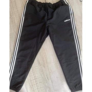 Adidas męskie spodnie czarne ciemne XL
