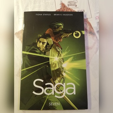 Saga volume 7 Brian K. Vaughan Fiona Staples