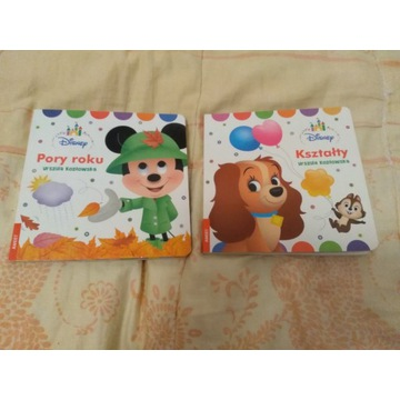 Disney pory roku, kształty książeczki
