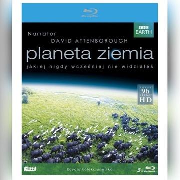 Blu ray Planeta Ziemia + Błękitna Planeta KOMPLET