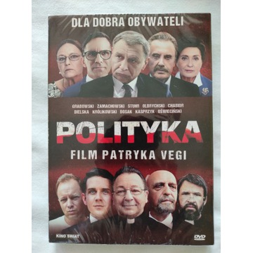 Film DVD Polityka Patryk Vega