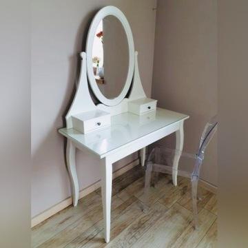 IKEA HEMNES toaletka z lustrem 100x50 cm BIAŁY