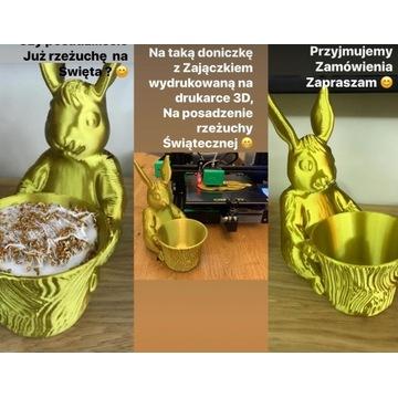 wydruk 3D Zajączek Wielkanocny