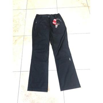 Spodnie softshellowe CMP, czarne damskie rozm M