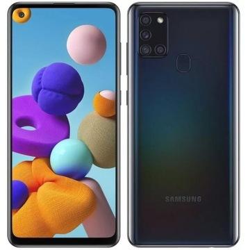 Smartfon Samsung Galaxy A21s 3 GB / 32 GB czarny