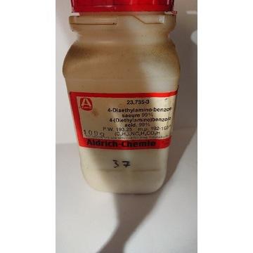 Kwas 4-dietyloamino benzoesowy 50 gram.