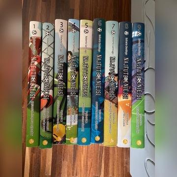 Seria książek Najfutbolniejsi wszystkie części