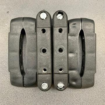 Adapter uchwyt belek bagażnika typ USA owalny