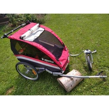 Weehoo przyczepka rowerowa wózek bliźniaczy lub 1