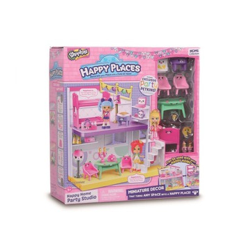 SHOPKINS DOMEK PARTY STUDIO HAPPY PLACES