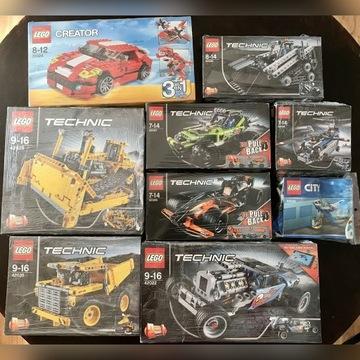Zestaw Lego Technic 31024, 24028, 24035, 24026