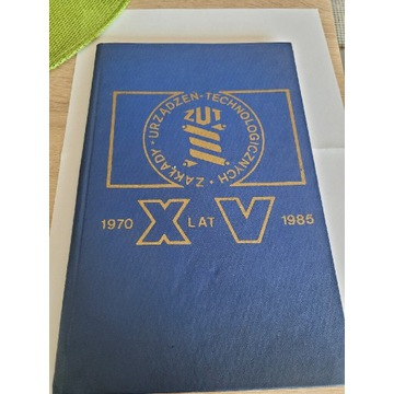 19. Medal XVlat zakładu urządzeń technologicznych