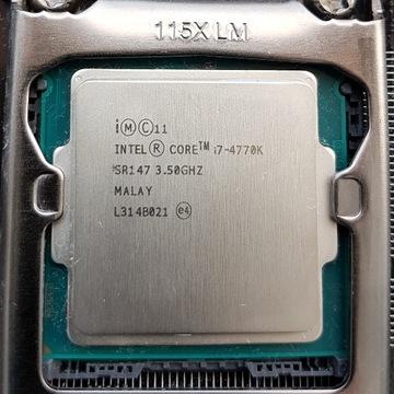 Zestaw Core i7 4770k,MSI Z87-GD65,16GB Ram Sprawne