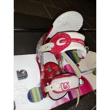 Wiązania snowboardowe Burton Stiletto rozmiar S