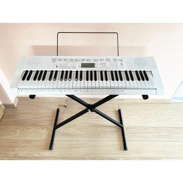 Keyboard Casio LK-247 świecące klawisze do nauki