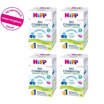 Mleko początkowe HIPP 1 BIO COMBIOTIK 4x750 g