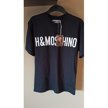 NOWY z metkami T-shirt H&M Moschino XS/S