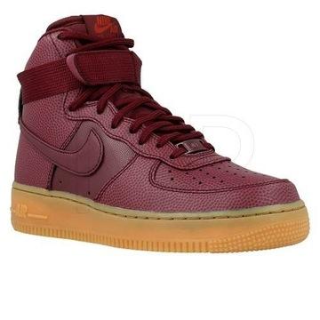 Nike Air Force one bordowe 37,5