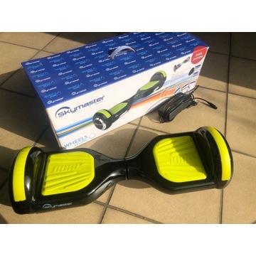 Hoverboard SKYMASTER WHEELS DUAL 6 zioelono-czarny