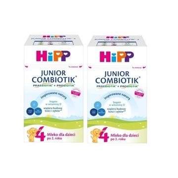Mleko dla dzieci HIPP 4 JUNIOR COMBIOTIK 4x750 g