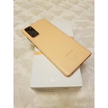 Jak Nowy Pomarańczowy Samsung s20 FE 6/128 GB Gwar
