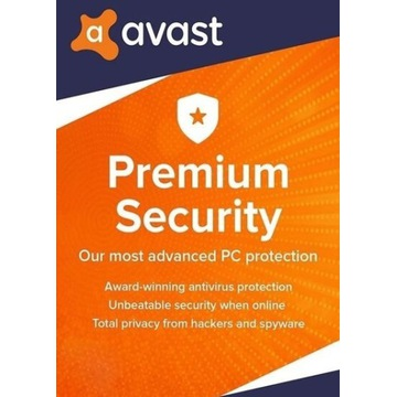 Avast Premium Security 1 ROK / 1 PC