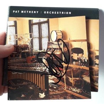 Pat Metheny Orchestrion płyta z autografem!