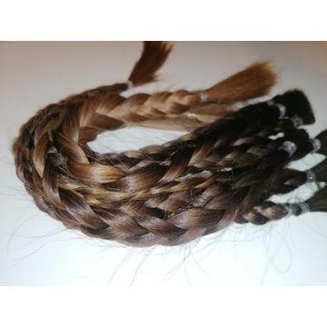 Włosy naturalne 110g, ponad 40cm