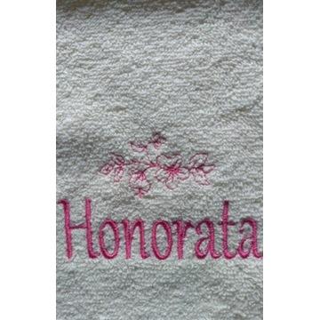 Ręcznik 30x50 z haftem imienia Honorata