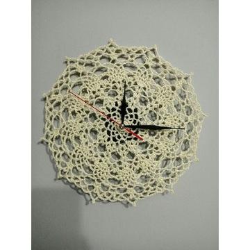 Zegar ścienny ręcznie robiony
