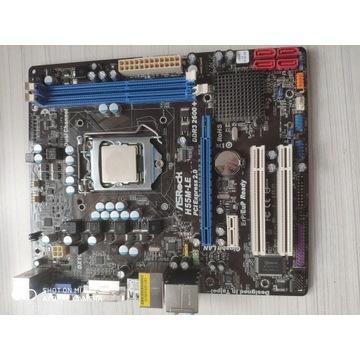 ASRock H55M-LE i Intel Core I3-540