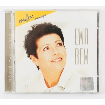 """Ewa Bem - """"Mówię Tak Myślę Nie"""" CD"""