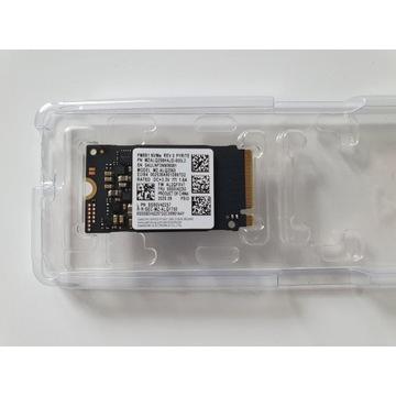 NOWY DYSK SSD SAMSUNG 256GB 2242 M.2 NVMe Windows