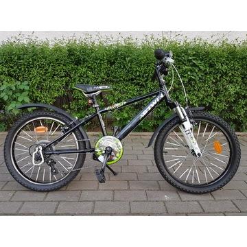Rower 20 B'TWIN Racingboy - bogate wyposażenie